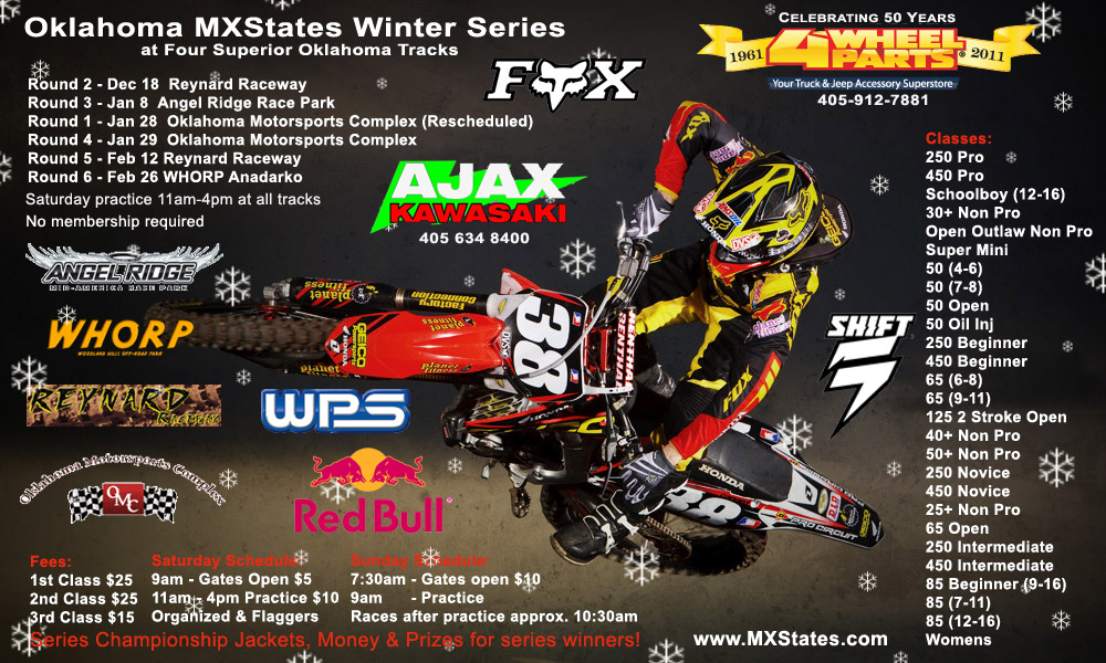 MXStates Winter Series poster
