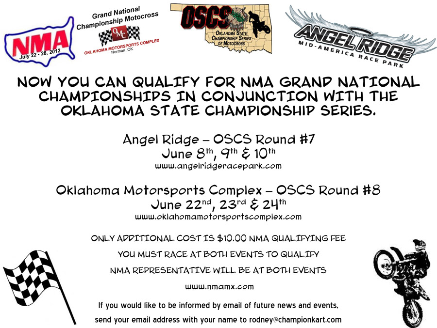 NMA qualifiers