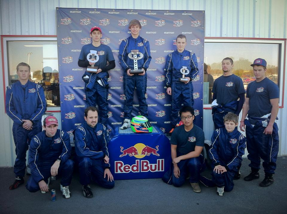 Jesse Woodyard US Red Bull Kart Fight Champion!