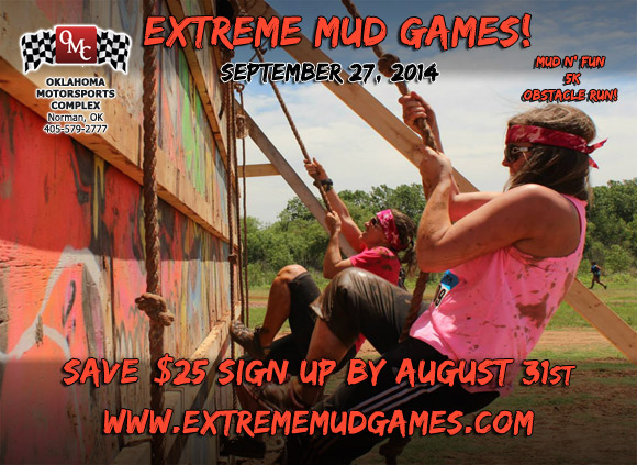 Extreme Mud Games at Oklahoma Motorsports Complex