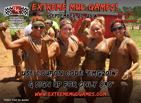 extreme mud games coupon