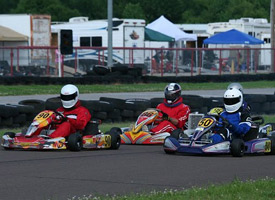 Kart racing at Oklahoma Motorsports Complex