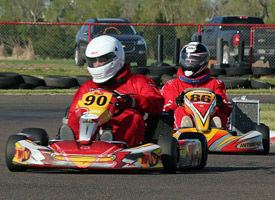 OMC club kart racing